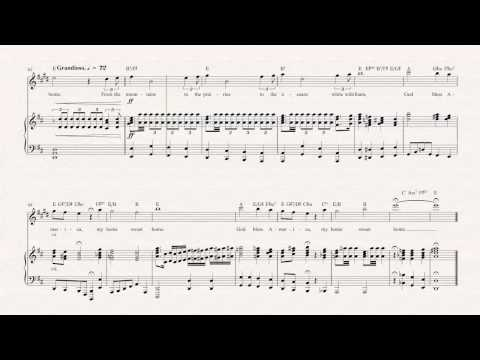 Clarinet  - God Bless America - Irving Berlin - Sheet Music, Chords, & Vocals
