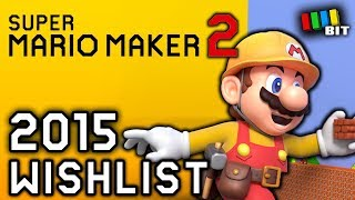 Looking Back at my Super Mario Maker 2 Ideas from 2015 [TetraBitGaming]