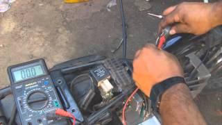Test de Estator y Bobina de Luces Moto 2T Suzuki Ax 100 [HD]