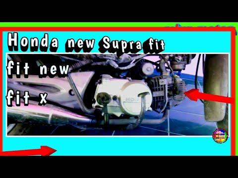 Mengenal Letak Part Honda New Supra Fit,fit New,fit X
