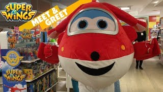 Super Wings Live Mascot Meet & Greet Event Jett || Keith