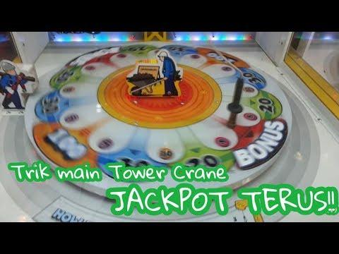 Trik mesin Tower Crane (Trolley) | Kuras habis tiketnya | Gampang Caranya!!