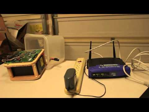 Ham Mesh Networking - Linksys WRT54G with Broadband Hamnet (HSMM-MESH)
