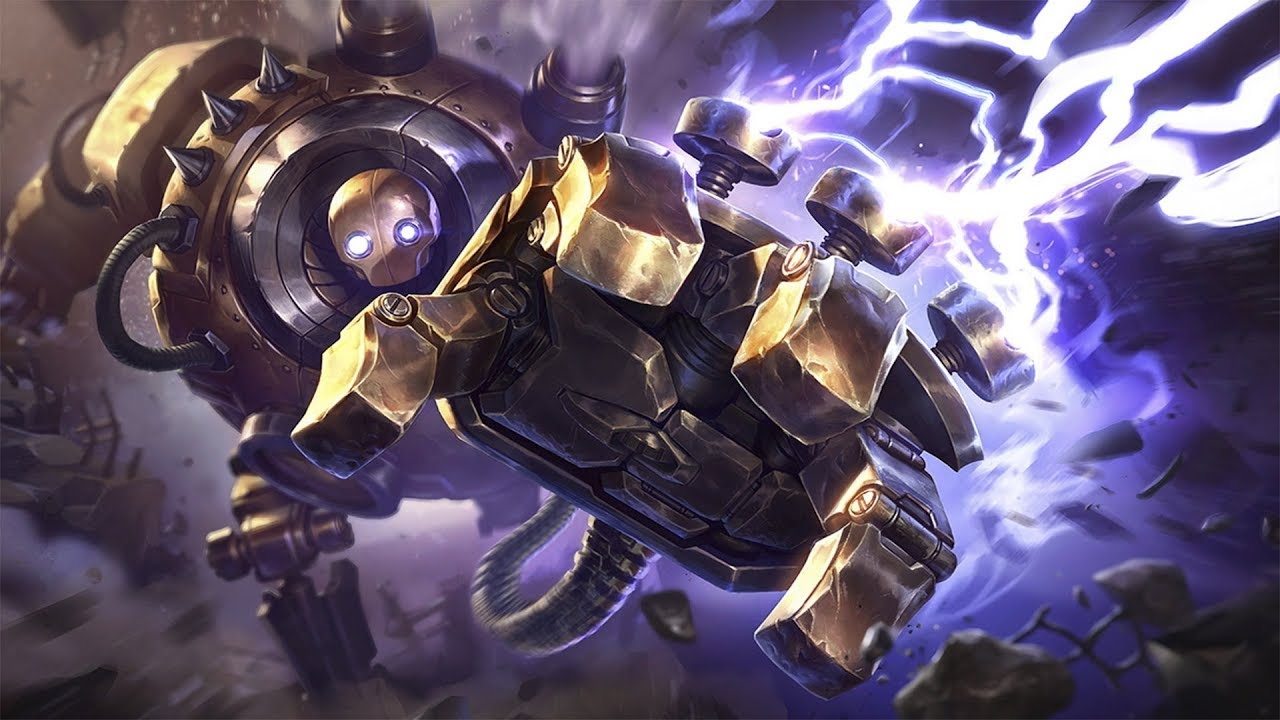 Image result for blitzcrank lol
