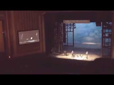 Lin Manuel Miranda freestyles at the Chicago Lyric Opera House