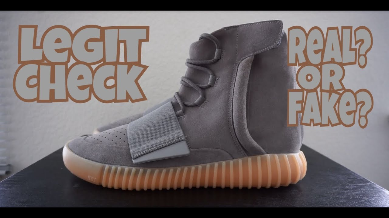 0a5f9bb71583 HOW TO TELL IF YOUR YEEZY 750 GREY GUM ARE REAL OR FAKE