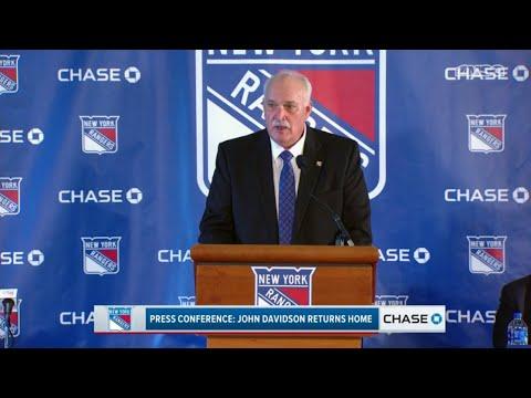 John Davidson Shares His Vision & Goals as Rangers President | New York Rangers