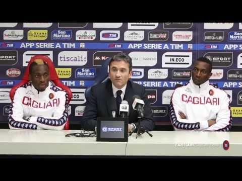 Presentazione Mpoku e Diakité 05/02/15 | Cagliari Calcio