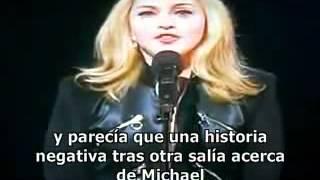 madonna mtv 2009 vma tributo a michael jackson (sub español)