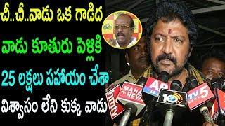 Vallabhaneni Vamsi Sensational  Comments On  TDP MLC Rajendra Prasad |cinema politics