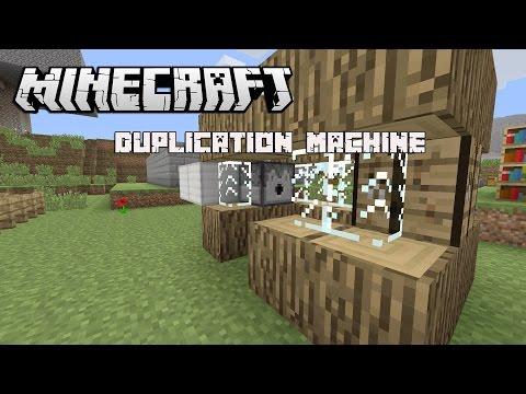 minecraft duplication machine
