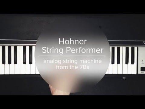 Hohner String Performer – Vintage Analog String Machine
