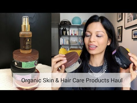 Skin and Hair Organic Products Haul | Middle East Natural Products Expo