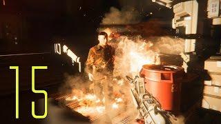 Alien: Isolation PC Gameplay Walkthrough Part 15 - HEADSHOT!