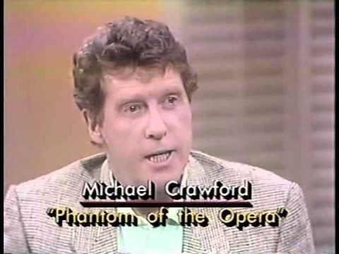 Michael Crawford interview on LA Breakfast TV - 1990