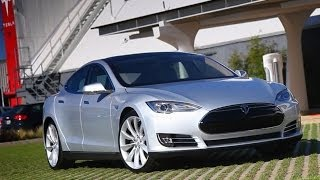 Tesla Model S - LA to Vegas the Hard Way