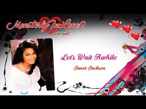 Janet Jackson - Let's Wait Awhile (1986)