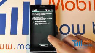 How To Reset/Restore Defaults - Sony Xperia S