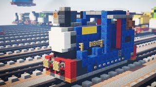 Minecraft Timothy Oil Burning Thomas & Friends Tutorial