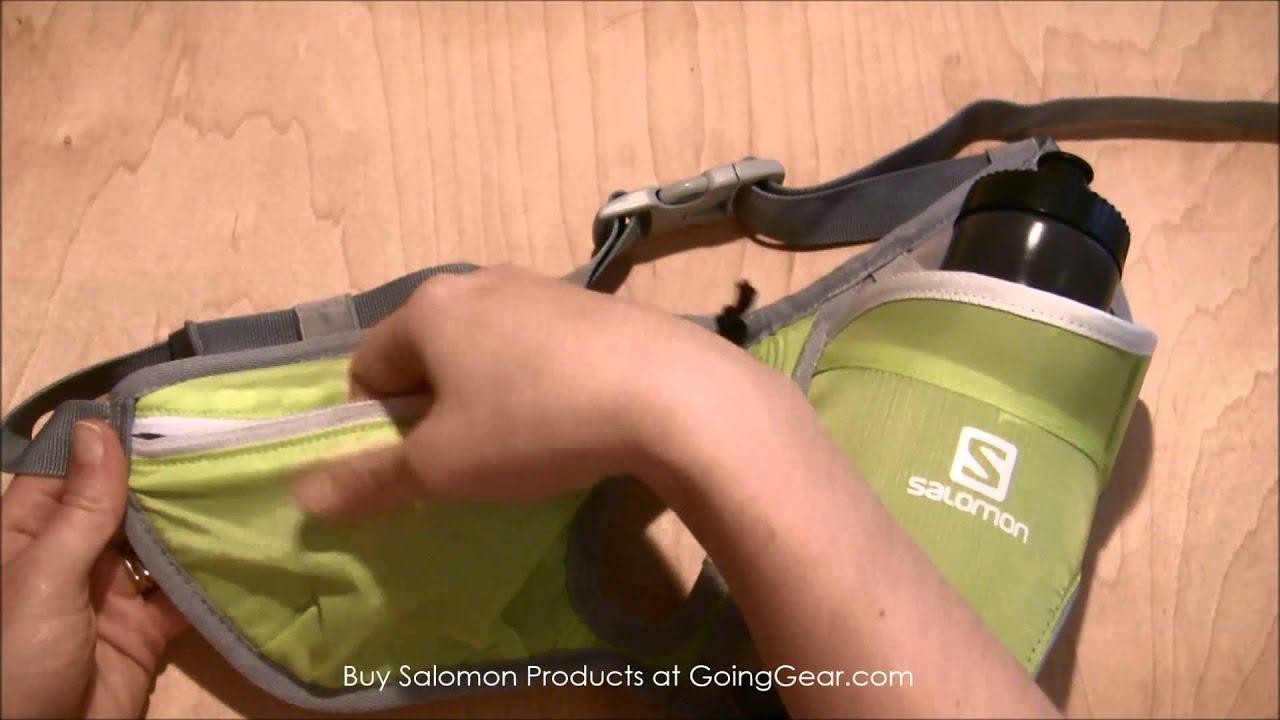 b496ab81dafc Salomon Hydro 45 Hydration Belt - YouTube