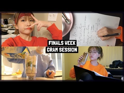 30+ HOUR STUDY VLOG 😵 PRE-MED STUDENT FINALS WEEK VLOG