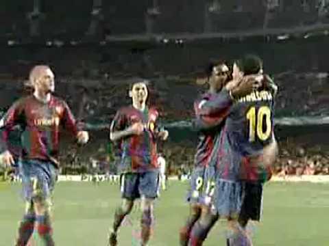 Primer gol de Giovani Dos Santos en Champions