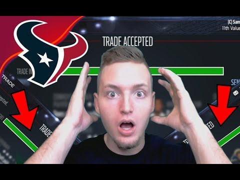 SO MANY SUPERSTAR TRADES ARE COMPLETED! NO WAY!! - Madden 17 Houston Texans Connected Franchise #4
