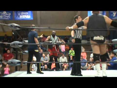 Rob Killjoy & Scrapyard Dog vs Matt Houston & Baron Bullard CWS Asheboro,NC 4-8-16