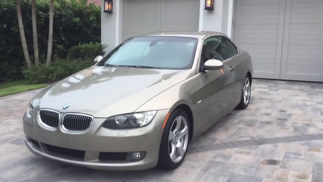 Bill Of Sale Example >> 2008 BMW 328i Convertible Review and Test Drive by Bill ...