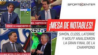 ¡IMPERDIBLE! Miguel Simón, Closs, Latorre y Quique Wolff analizaron la final de la #CHAMPIONSxESPN