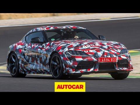 Toyota Supra 2019 review   Cayman rival prototype driven   Autocar