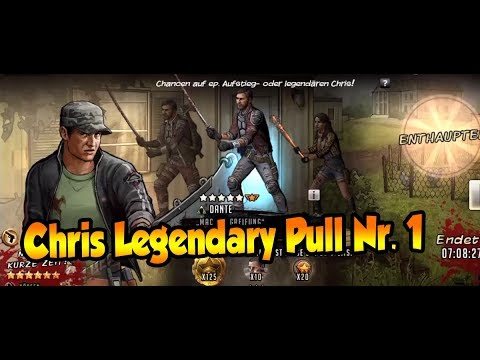 The Walking Dead: Road to Survival Pull Chris #1