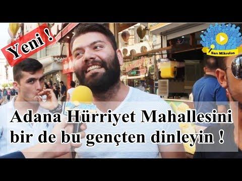 Adana Hürriyet Mahallesini bir de bu gençten dinleyin