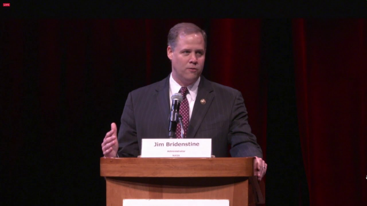 Administrator Bridenstine Speaks at Humans to Mars Summit