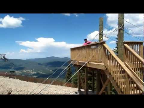 Angel Fire Zipline Platform from Chile Express Lift