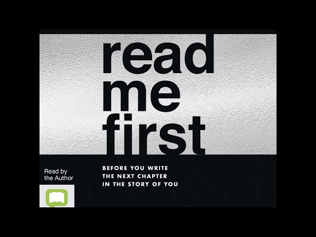 Read Me First is now available as an audio book
