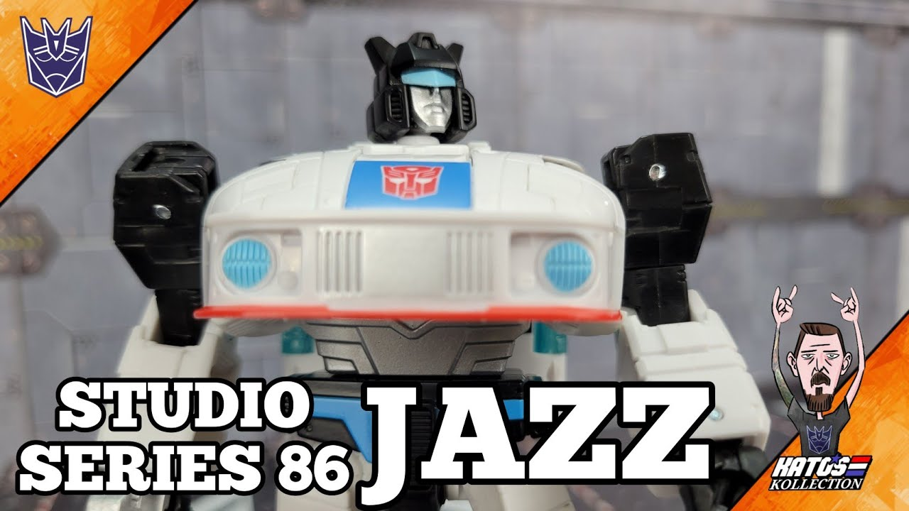 Transformers Studio Series 86 Jazz Review by Kato's Kollection