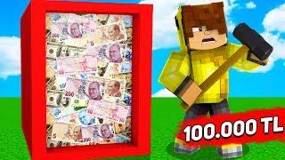 CAMI KIRAN 100.000 TL KAZANIR! 😱 - Minecraft