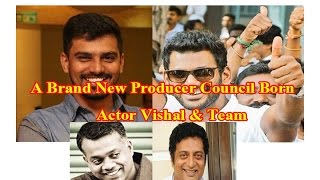 Vishal - A New Producer Council Born | Tamil Cinema