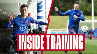 Gym Challenges, Two-Touch & Rondos | Inside Training | England