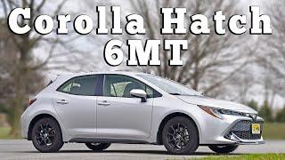2020 Toyota Corolla Hatchback SE 6MT E210: Regular Car Reviews