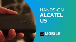 Alcatel U5, o smartphone com filtros à la Snapchat [Hands-on MWC 2017]