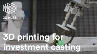 3D printing for investment casting | 3D Hubs low-cost metal