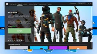 How To Download and Install FORTNITE For PC On Windows 10/8/7 For FREE