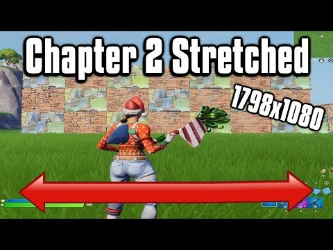 Using Stretched Resolution In Fortnite Chapter 2! - Best Custom Resolution!