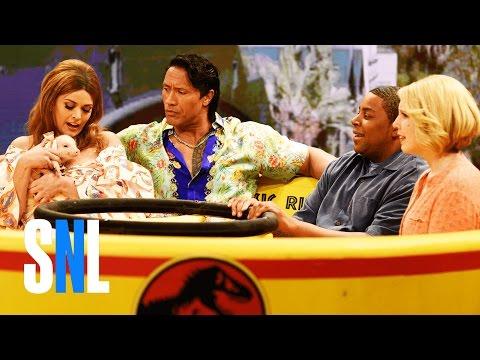 Gemma w/ Dwayne Johnson 2  SNL