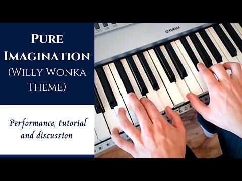 Jazz Piano Tutorial - Pure Imagination - Analysis