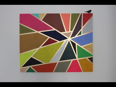 DIY-Geometric Painting