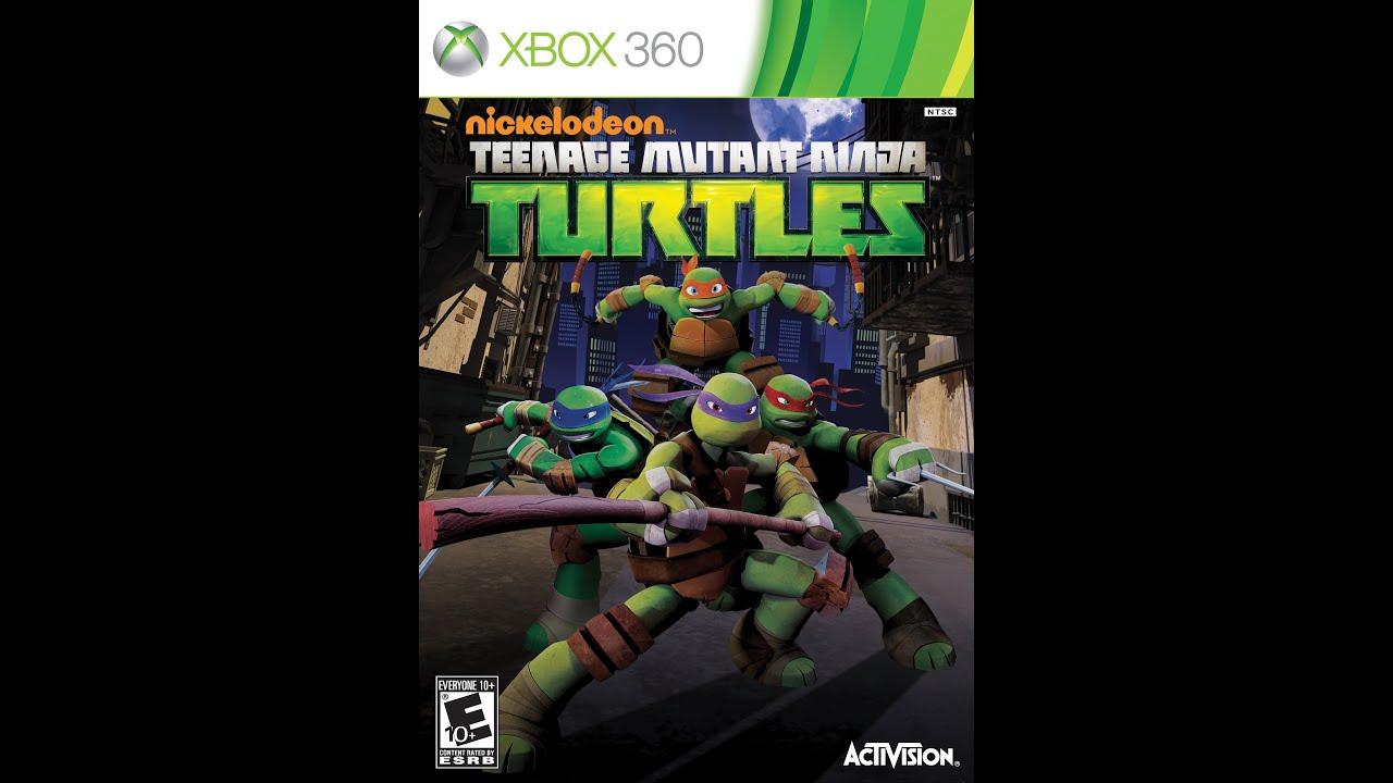 Nickelodeon Teenage Mutant Ninja Turtles for Xbox 360 ...