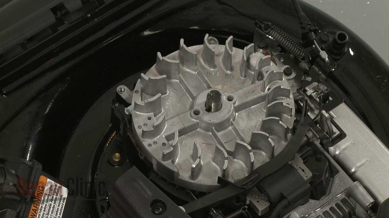 Briggs Amp Stratton Lawn Mower Replace Engine Flywheel